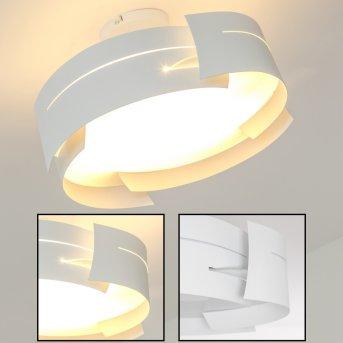 Novara ceiling light white, 3-light sources