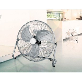 Globo VAN standing fan chrome, stainless steel