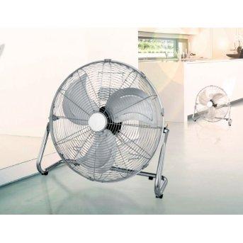 Globo VAN standing fan chrome, stainless steel