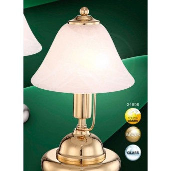 Globo ANTIQUE I table lamp brass, 1-light source