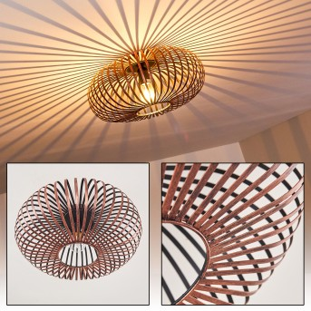 ORAVI ceiling light copper, 1-light source