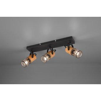 Trio TOSH Spotlight LED black, 3-light sources