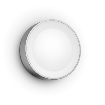 Philips Hue White & Color Ambiance Daylo Wall Light LED stainless steel, 1-light source