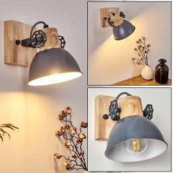 Orny Wall Light light wood, 1-light source