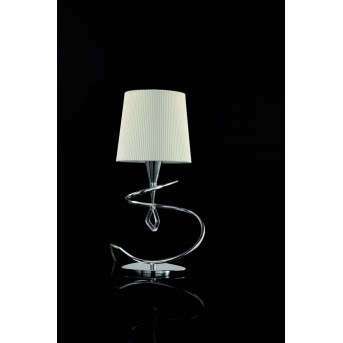 Mantra Mara table lamp chrome, 4-light sources
