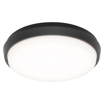 Outdoor Ceiling light LCD TYP 5065 LED black, 1-light source