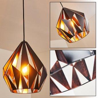 SITUK Pendant Light black, copper, 1-light source