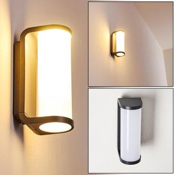 Outdoor Wall Light Novelle LED anthracite, 1-light source
