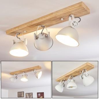 SVANFOLK Ceiling Light brown, white, 3-light sources