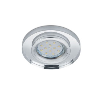 recessed light Trio Leuchten PIRIN chrome, 1-light source