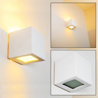 Noto wall light white, 1-light source