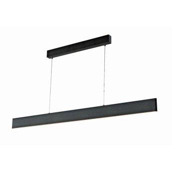 WOFI SILEAS Pendant Light LED black, 1-light source, Remote control