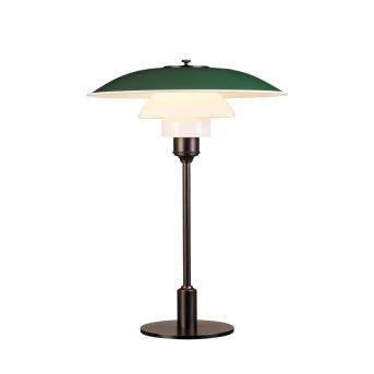 Louis Poulsen 3½-2½ Table Lamp green , 1-light source