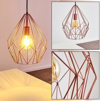 ZAREMBO Pendant Light copper, 1-light source