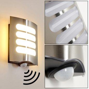 Outdoor Wall Light Meja LED anthracite, 1-light source, Motion sensor