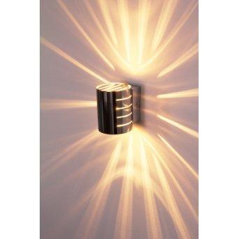 Ponte wall light chrome, 1-light source