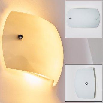 PILAR Wall Light white, 2-light sources
