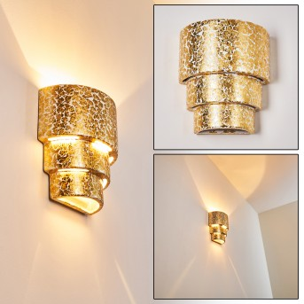 KARATSCHI Wall Light gold, 1-light source
