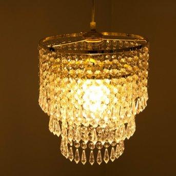 Reality pendant light brass, 1-light source