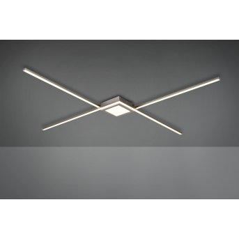Trio OXFORD Ceiling Light LED matt nickel, 1-light source