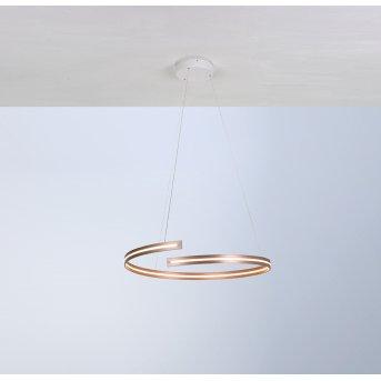 Bopp BREAK Pendant Light LED gold, 1-light source