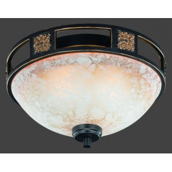 Trio 6081 ceiling light rust-coloured, 2-light sources
