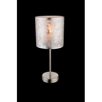 Globo table lamp matt nickel, 1-light source