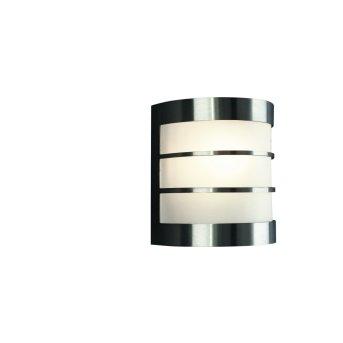Massive myGarden CALGARY wall light stainless steel, 1-light source