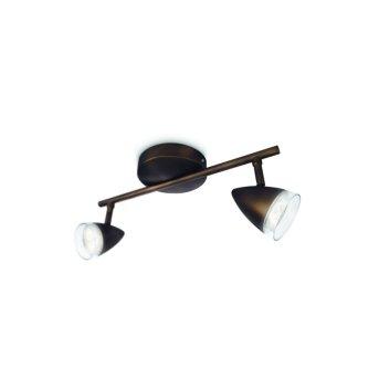 Philips myLiving MAPLE spotlight LED bronze, 2-light sources