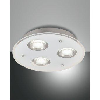 Fabas Luce BALI Ceiling light LED silver, 3-light sources