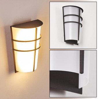 LAMARCHE Outdoor Wall Light LED anthracite, 2-light sources