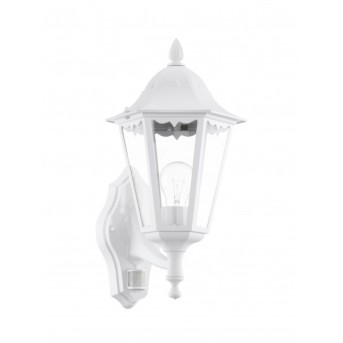 Eglo NAVEDO Wall Light white, Motion sensor