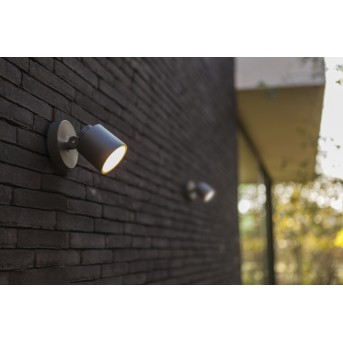 Lutec EXPLORER Outdoor Wall Light LED anthracite, 1-light source