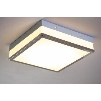 Wing ceiling light LED chrome, 1-light source