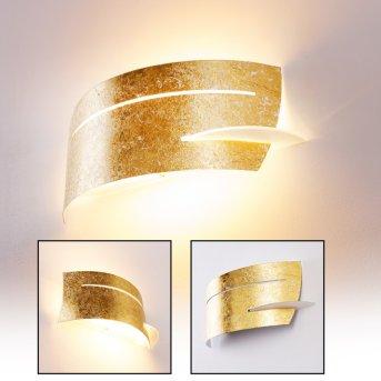 Novara wall light gold, 1-light source