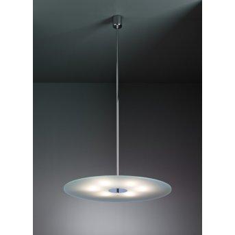 Tecnolumen HP 28-700 Pendant light chrome, 6-light sources