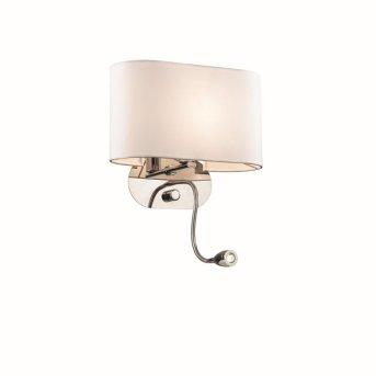 Ideal Lux SHERATON Wall Light LED chrome, 1-light source