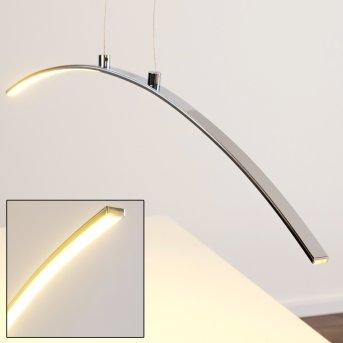 Leuchten-Direkt pendant light LED chrome, 1-light source
