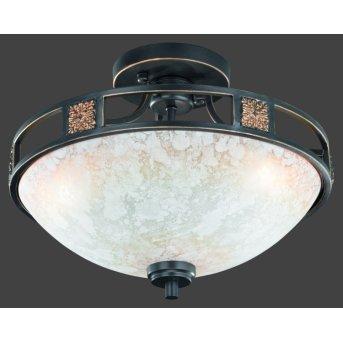 Trio 6081 ceiling light rust-coloured, 3-light sources