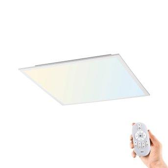 Leuchten-Direkt FLAT ceiling light LED white, 1-light source, Remote control