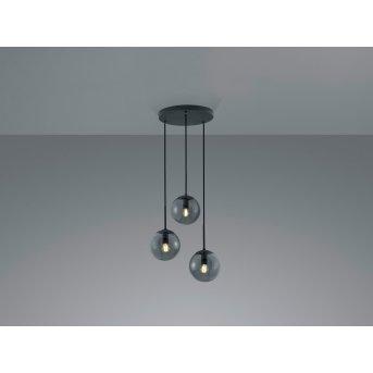 Trio BALINI Pendant Light LED anthracite, 3-light sources