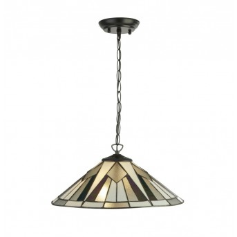 Pendant Light Searchlight GATSBY black, white, transparent, clear, 2-light sources