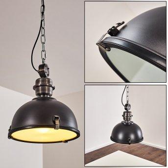 Pendant Light Ilvy LED black, 1-light source