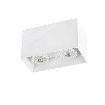 Faro Tecto ceiling light white, 2-light sources