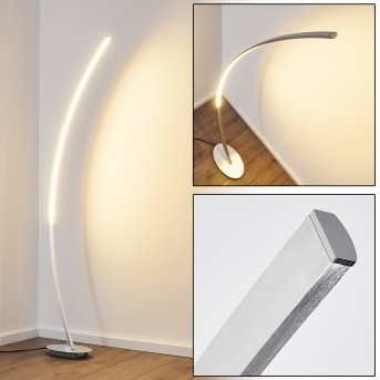 ANTARES Floor Lamp LED chrome, 1-light source