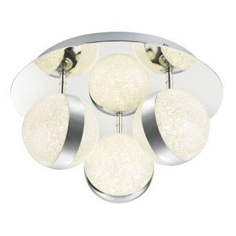 Globo Tobias Ceiling Light Led Transparent 56007 5 Illumination Co Uk