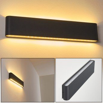 TINGLEV Outdoor Wall Light anthracite, 2-light sources