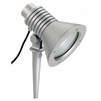 Albert 2183 garden spotlight silver, 1-light source