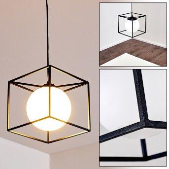 LEGANO Pendant Light black, 1-light source