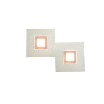 Grossmann KARREE Wall Light LED copper, 2-light sources